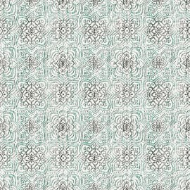 Set Cuvertura cu doua pernute, Matlasata ,Luxurio,  Rivoli verde, cu uni 220x240 cm