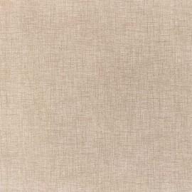 Fata de masa impermeabila (teflonata) Casa de bumbac, Edgar, diametru 140 cm, uni, Bej