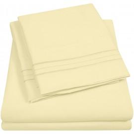 Set lenjerie de pat, cearceaf cu elastic, brodata, bumbac 100%, roz pudra