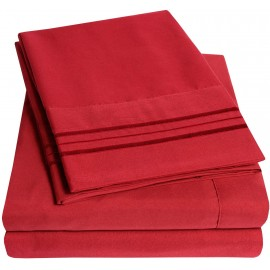 Set lenjerie de pat, cearceaf cu elastic, brodata, bumbac 100%, bej vanilie